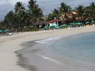 Beach Juan Dolio sea caribbean