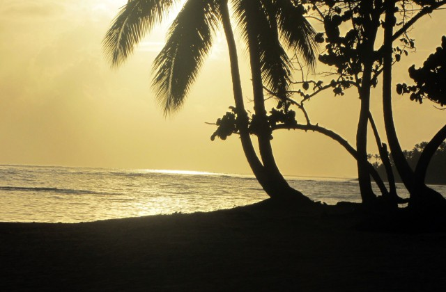 Beach Punta Popy Las Terrenas Sunset 1