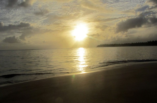 Beach Punta Popy Las Terrenas Sunset