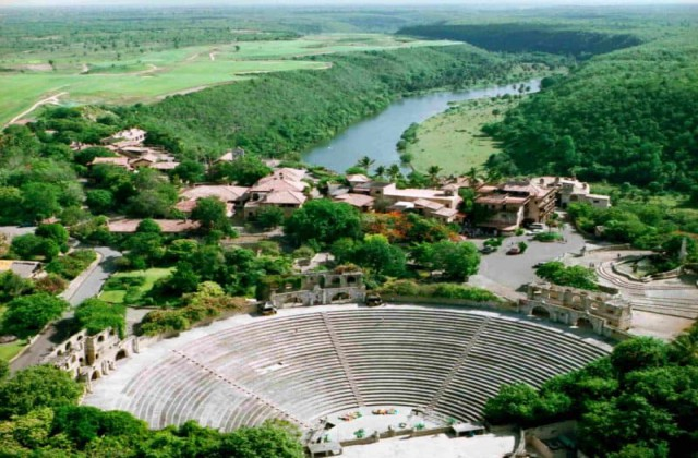 Amphitheater Altos de Chavon La Romana Dominican Republic