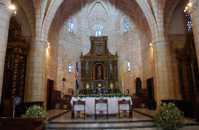 Cathedral Santa Maria Menor Colonial Zone Santo Domingo Dominican Republic 1