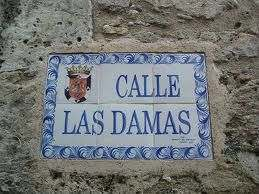 Calle de las Damas Colonial Zone