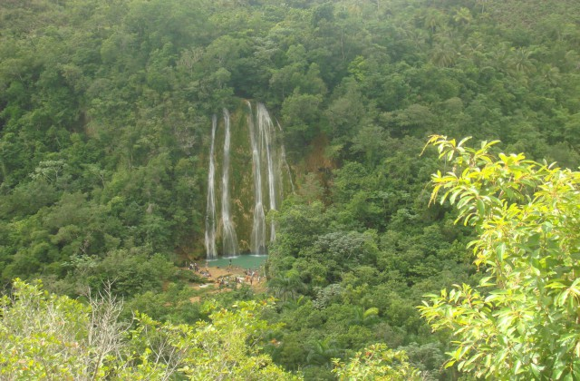 Waterfall El Limon Las Terrenas Samana