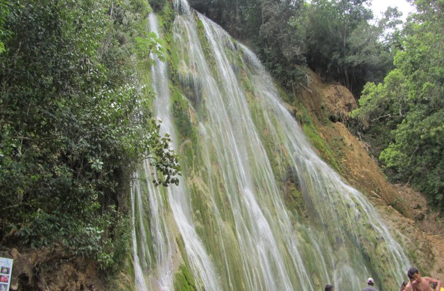 Waterfall El Limon Samana
